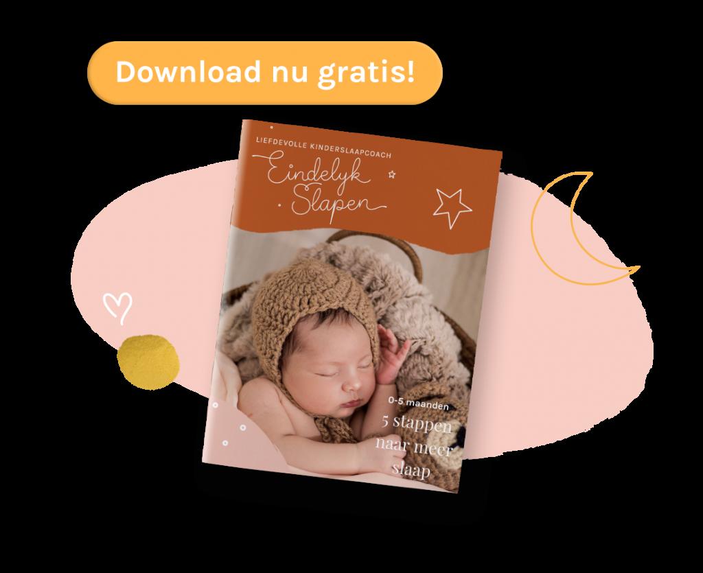 Beter slapen met baby nu gratis